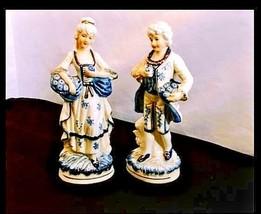 Man & Woman Vintage Figurines AB 280 Set of 2 - $49.45