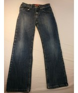 Lee Premium Regular Select Boys Jeans Size 14 R Blue Straight Fit (#8) - $6.50