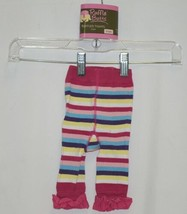 Ruffle Butts Ruffled Tights 1 Pair Multi Colored Striped 0 to 6 Months image 1