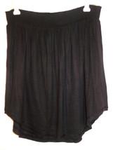 Victoria's Secret black knit short skirt elastic waist-M-NEW - $13.98
