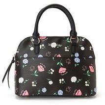 18fe4fec98 Hello Kitty Boston Bag Black (Flower) Sanrio Kawaii Cute F S NEW Japan