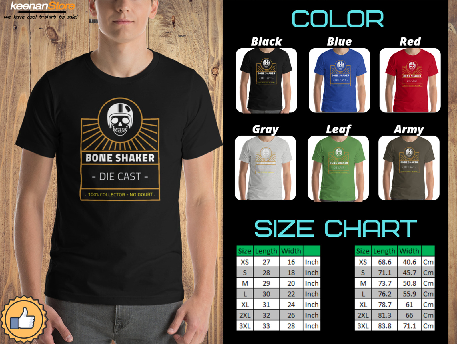 Primary image for Hot Wheels BoneShaker - High Quality Clothing T-Shirts