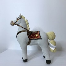 "Disney Maximus White Horse Plush Tangled Stuffed Animal 14"" Long 15"" Tall - $28.59"