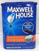 Maxwell House Coffee Original Filter Packs 10 ct - $7.99