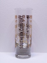 Southern Comfort With Gold Design & Lettering Shot Glass - $9.99