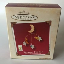 2003 Hallmark Twinkle Twinkle Pooh Collection Christmas Tree Ornament New - $8.00
