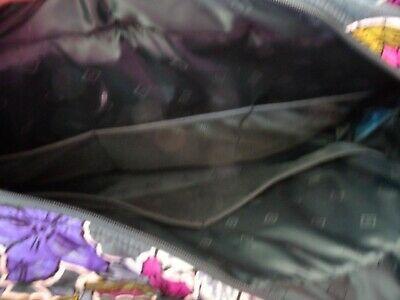 Vera Bradley TRiple compartment travel bag pattern in Falling Flowers image 4