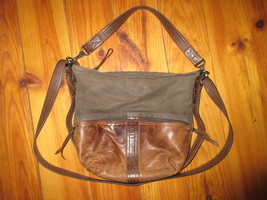 "Rough & Tumble ""City Safari"" Double Zip Small hobo bag - $300.00"