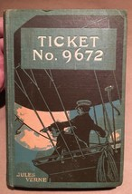 Ticket No. 9672 by Jules Verne First US Hardback Edition - $318.50