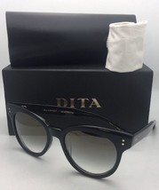DITA Sunglasses SUNSPOT 22028-A-BLK-53 53-20 Black Frame w/ Grey Gradient+Mirror