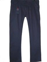 Armani Jeans Navy Comfort Cotton Jeans Men's Casual Pants Slim  Sz US 40 EU 56 - $158.39