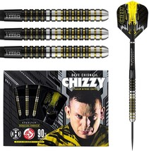 Harrows Dave Chisnall 90% Tungsten Steel Tip Darts (23gm) - $94.99