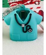 Bath & Body Works Scrubs Medical Field Pocket. Bac Green Lanyard Holder - $17.72