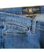 Lucky Brand Sofia Boot Cut Distressed Medium Wash Mid Rise Jeans Womens ... - $24.61