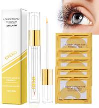 6PCS/Set Natural Eyelash Growth Enhancer Eyebrow Growth Treatment Serum ... - $17.39