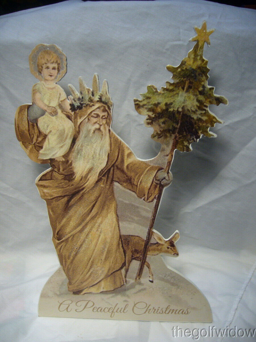Bethany Lowe Peaceful Father Christmas Dummy Board