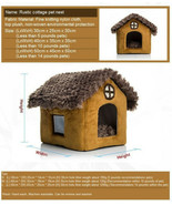 Pomeranian Bichon small dog kennel dog house M 	cottages	 - $49.49
