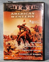The Great American Western - Vol. 18 (DVD, 2003) 4 Movies - $8.75