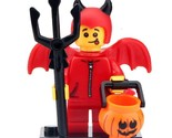 Red Devil Halloween - Trick or Treat Minifigure Gift Building Toy For Kids