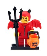 Red Devil Halloween - Trick or Treat Minifigure Gift Building Toy For Kids - $3.15