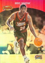Eric Snow Bowman's Best 00-01 #38 Philadelphia 76ers - $0.15