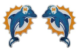 Miami Dolphins NFL Football Fully Embroidered Iron On Patch Dan Marino - $12.87+