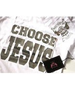 Love Beauty for Ashes Womens Girls Choose Jesus Be Saved Anointed Prayer... - $17.95