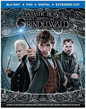 Fantastic Beasts: The Crimes of Grindelwald (Blu-ray + DVD + Digital, 2019)
