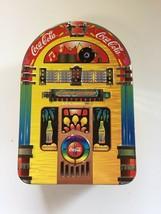 Coca Cola Collectible Tin, Juke Box, Always Rockin' 1997 Decorative Tin - $14.02
