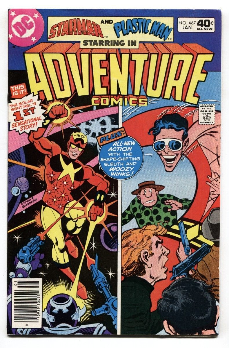 ADVENTURE COMICS #467-1980-First appearance of STARMAN