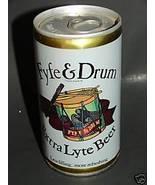 FYFE & DRUM EXTRA LYTE BEER Steel Can Genessee Brewing - $9.99