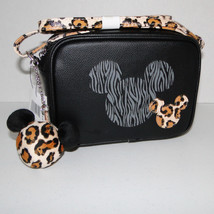 Disney Parks Animal Kingdom Mickey Mouse Leopard Crossbody Purse image 2