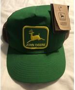 Louisville John Deere Patch Hat Mesh Trucker Cap Green Made In USA TagSn... - $241.86