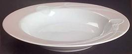 """Mikasa Classic Flair Peach Rim Soup Bowl 9 1/8"""" - $19.79"""
