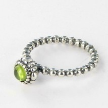 Pandora 190854PE 56 Birthday Blooms Ring August Peridot Sterling Silver ... - $41.70