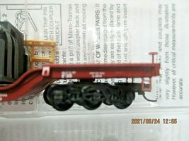Micro-Trains # 10900011 Pennsylvania Railroad Depressed-Center Flat Car N-Scale image 4