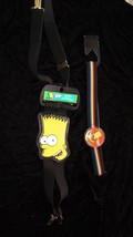Simpsons Bart Suspsenders & Belt  Lot 1990s - $16.99