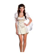 DREAMGIRL ANGEL OF MUSIC ADULT HALLOWEEN COSTUME WOMEN'S SIZE SMALL 6390 - $25.13
