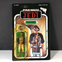 1983 KENNER STAR WARS ACTION FIGURE Lando Calrissian Skiff Guard disguis... - $173.25
