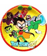 Gallmark Teen Titans Movie Party Plates Lunch Birthday Supplies Decorati... - $15.79