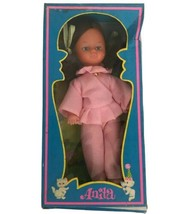 """VIntage 1970s Anita Fashion Doll Mod Groovy Made In Hong Kong 8"""" Pink Dress - $21.36"""