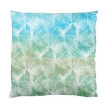 Throw Pillow Cushion Case Cover Design 45 Blue Green or Pink Purple L.Dumas - $24.99+