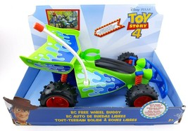 Disney Pixar Toy Story 4 Movie RC Free Wheel Buggy Action Car Kids Toy Gift - $27.69
