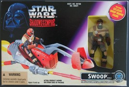 Star Wars Shadows Of The Empire Action Figure Swoop Vehicle & Trooper MIB - $20.78