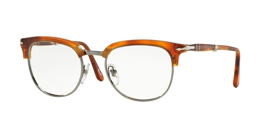 67754976a5c S l1600. S l1600. Previous. New Persol PO 3132 V 96 Authentic Terra Di  Siena Eyeglasses 49 20 ...