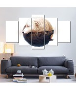 Yin Yang Black and White Wolves  5 Pcs Canvas Wall Art Print Picture Hom... - $18.99+