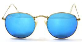 Ray Ban 3447 112/17 Classic John Lennon Gold Blue Sunglasses 50mm New Genuine - $89.05
