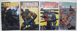 Terminator Enemy Within Comic set 1-2-3-4 Lot NM New Bisley art Bagged &... - $25.00