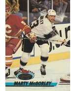 1993-94 Stadium Club #155 Marty McSorley  - $0.50