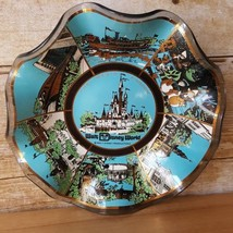 1970s Era Orlando Florida Walt Disney World smoked glass ashtray candy dish - $12.59
